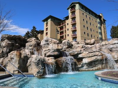 The Smoky Mountains & Golf Views From This 5th Floor Owner Managed Resort Condo
