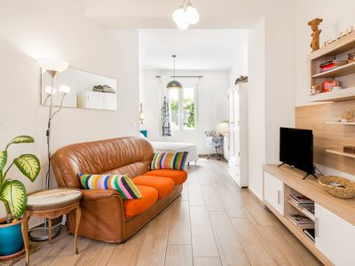 Photo for Artistic Studio Apartment Close to the Beach with Air Conditioning, Wi-Fi & Bikes