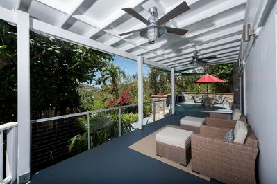 Your large outdoor living area