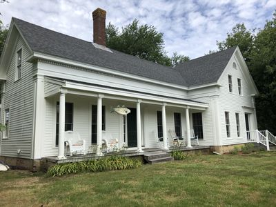 Photo for BRAND NEW LISTING!! Vintage Greek Revival Cape home