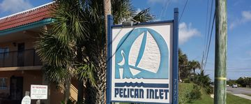 Pelican Inlet, Crescent Beach, FL, USA