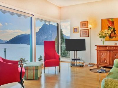 Photo for Villa with Spectacular Lake View