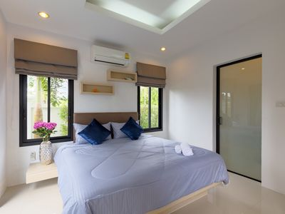 Photo for Villa Vi in Phuket with private pool walk to seaside