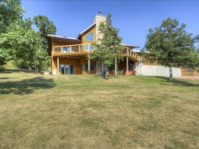 Photo for Aces& Eights: 5 bedroom 1 mile from Deadwood-Paved Roads