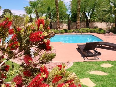 Photo for CHARMING NEWLY REMODELED FOUR BEDROOM HOME w/TROPICAL HUGE BACKYARD /POOL/SPA