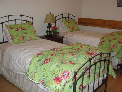 all bedrooms have new high quality sheets and comforters