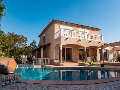 Photo for Nice quiet villa with private swimming pool near Saint Cyprien