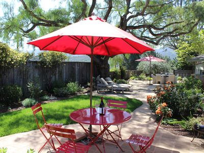 """Photo for """"Pepper Tree Cottage"""" Panoramic Views of Carmel Valley, Walking Distance to the Village"""