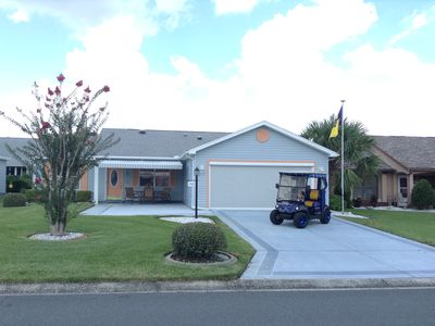 Photo for Beautiful Decorated 2 Bdrm 2 Ba Home w/Gas Golf Cart, BBQ Grill & FREE WiFi!