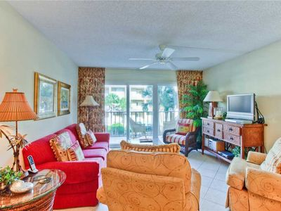 Photo for Beachfront Condominium Perfect for Couples! Amenities Include Pool, Workout Room, Tennis!