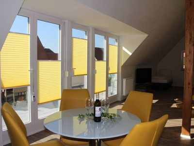 Photo for Great, open loft apartment with fantastic roof terrace