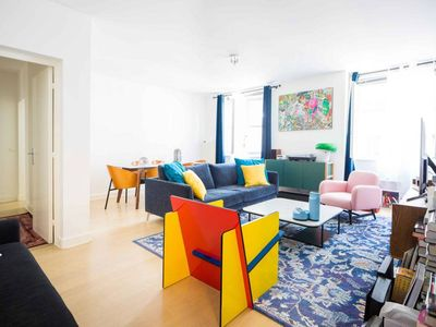 Photo for Beautiful Apartment with 2 bedrooms & baths#Paris4