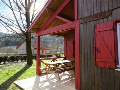 Photo for Camping Lake Moselotte **** - Chalet Leisure 4 Rooms 6/8 People