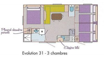 Photo for TRIGANO Evolution 31 3 bedrooms 1