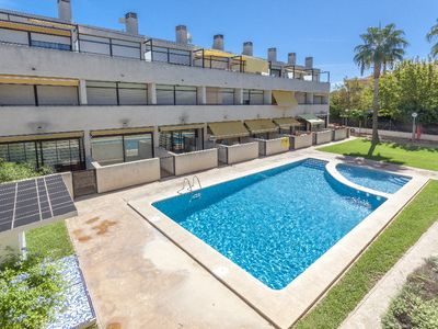 Photo for Duplex holiday apartment with air-conditioning and WIFI in Javea, sleeping 4.