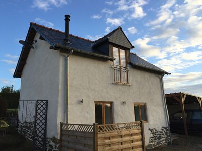 Photo for Fantastic 1 Bedroom Gite Cottage Close to Fishing Lakes.. Everything brand new!