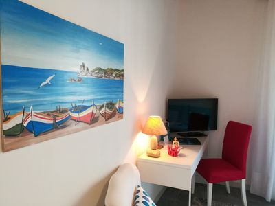 Photo for House ISLAND - CORAL room just steps from the beautiful beach of Cefalu