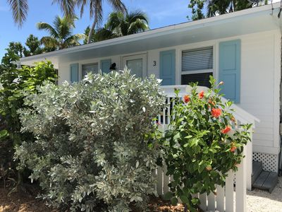 Photo for Island Style Keys Bungalow #3- Cozy, tropical bungalow with heated pool!