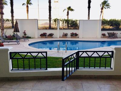 Photo for Cabo Village Luxury 2br/2ba walking distance beach