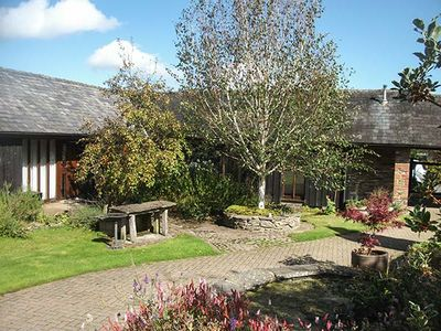 Photo for WYE COTTAGE, pet friendly, with hot tub in Builth Wells, Ref 935409