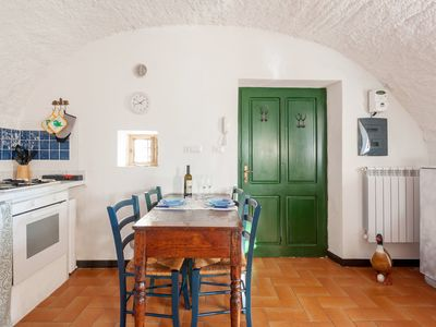 Photo for Rustico Dolce Rustico - Wi-Fi and garden in Olive Grove 1 km from the sea