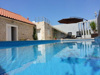 Photo for 100 year old villa with pool with stunning panoramic views