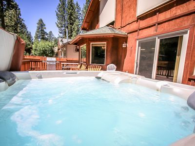 Photo for FREE 3rd night Labor Day wknd! LAKE! VILLAGE!  HOT TUB! BEST GAMEROOM