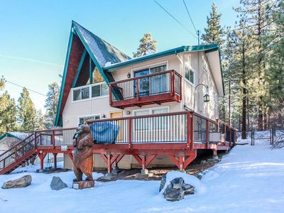 Photo for Beartree Hideaway: Dynamic Fox Farm Home with Ski Slope Views! Hot Tub! Pool Table!