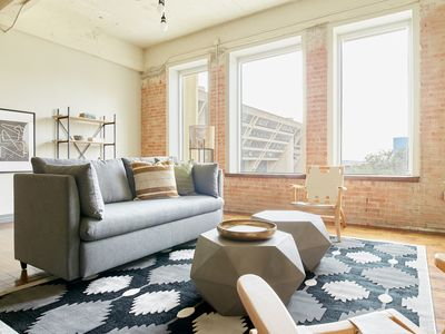 Photo for Sonder | Butler Brothers | Creative 1BR + Pool
