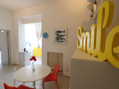 """Photo for Charming Holiday Apartment """"Casa vacanze Aura a Otranto"""" with Wi-Fi & Balcony, Parking Available, Pets Allowed"""