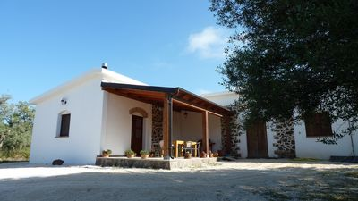 Photo for Sa Carruba - Typical rural house surrounded by greenery with a panoramic view