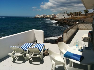 Photo for Beachfront villa in Costa Teguise, Lanzarote