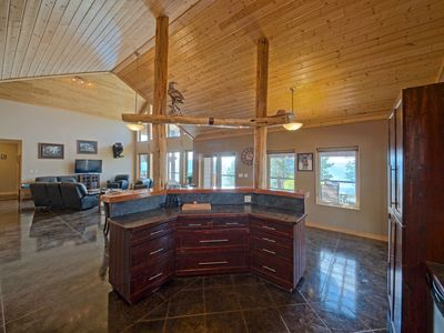 Photo for Stunning Post and Beam Home with the best views in the valley, wheelchair acc.