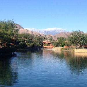 Photo for lake-front stunning desert oasis with infinity pool and incredible mountain vie
