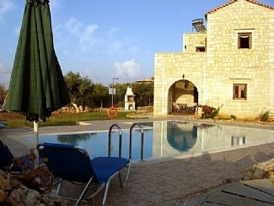 Photo for Private Holiday Villa On The Beautiful Island Of Crete,Pool, Eot 1042K1000300850