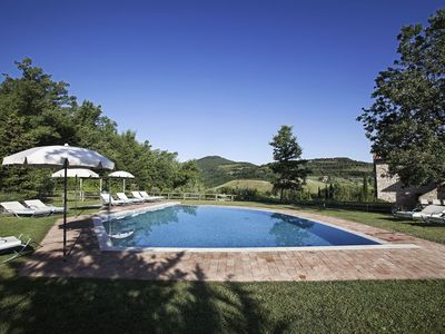 Photo for Villa Poliziano, near Montepulciano in Tuscany, with 7 bedrooms, 14 sleeps.