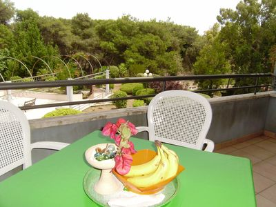 Photo for Holiday Apartment Ronchi directly by the Beach with Balcony & Terrace; Parking Available