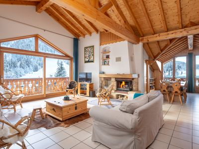 Photo for Appart 140m² 10 to 12 pers Courchevel 1300 Praz ski-in / ski-out on the slope