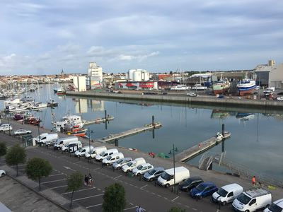 Photo for Studio on the port of Sables d'Olonne. Harbor and Thatch View