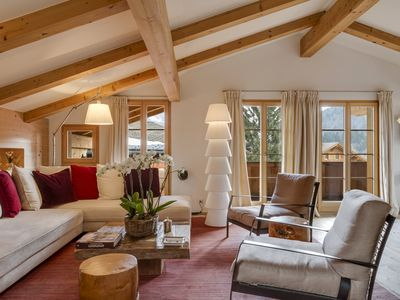 Photo for LUXURY CHALET GSTAAD - walking distance to center