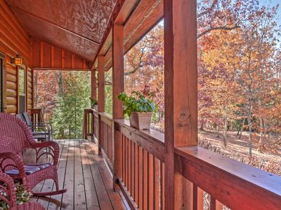 Photo for Scenic Family Cabin w/Porch on Lookout Mountain!