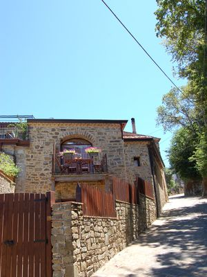 Photo for Charming cottage with sea view in quiet village. 15mins by car to sandy beach
