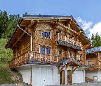 Photo for Full Chalet La Roche ski resort Plagne 1800 near slopes access