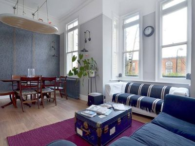 Photo for Gorgeous flat,  in   a charming area - moments from tube/ supermarkets and more
