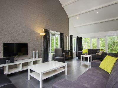 Photo for 12-person bungalow - Extra accessible in the holiday park Landal De Bloemert - on the water/recreation lake