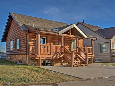 Photo for 3BR Cabin Vacation Rental in Pine Lake, Alberta