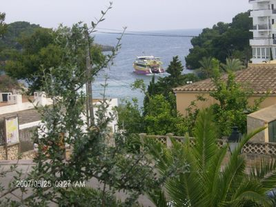 Photo for Ground floor Apartment, with shared Pool  and Sea Views one minute to the Beach