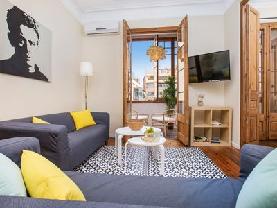 Photo for (AR364) BARCELONA | BIG APT IN THE HEART OF BCN FOR 8¤