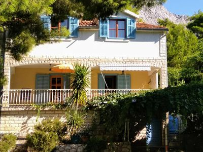 Photo for Two bedroom apartment with terrace Ivan Dolac, Hvar (A-8711-c)