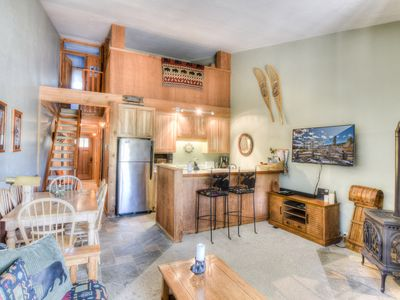 Photo for Cozy Getaway in Heart of Northstar Ski In, Ski Out, Smart TV, HOA Amenities, FUL